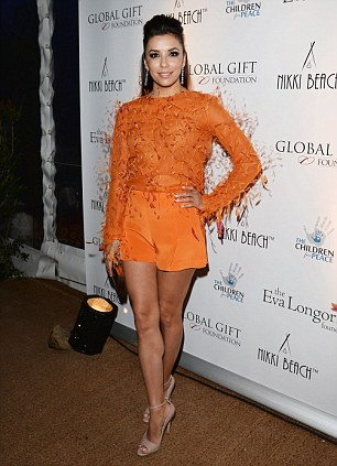 Eva Longoria was told by Swiss jewellery house Chopard that she would have to be accompanied by a security guard as she dressed in glittering gems for a charity gala at the Carlton Hotel