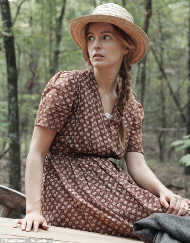 In character: Ahna O'Reilly plays Dewey Dell in the film As I Lay Dying