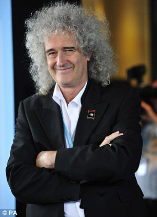 Scathing: Brian May has launched an attack on BBC talent show The Voice
