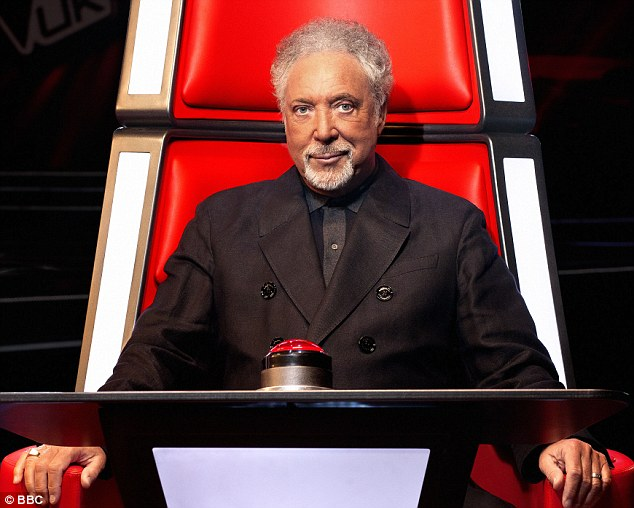 'Shoehorned': Brian was particularly dismissive of Sir Tom Jones' involvement in the show