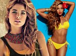 How to follow in Beyonce's footsteps: Doutzen Kroes transforms into exotic beauty for new H&M summer collection