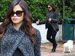 Taking those final days in her stride: Jenna Dewan-Tatum keeps active with her dogs as she counts down to due date