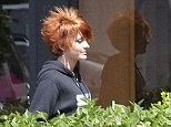 Punk rock! Paris Jackson debuts her red spiky cropped cut as she continues to experiment with her style