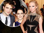 So they're Never Ever Ever Getting Back Together? Kristen Stewart 'heads to Taylor Swift's house' after R-Patz split