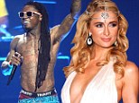 Music star in the making: Rapper Lil Wayne signs heiress Paris Hilton to his record label to make a house album