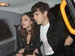 Still on their honeymoon: Keira Knightley and husband James Righton enjoyed a date night at The Delaunay restaurant on Tuesday night
