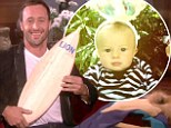 'It's a man factory in the house!' Hawaii Five-O's Alex O'Loughlin shares his bouncing baby boy's first photos