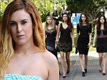 Rumer Willis guests on Pretty Little Liars
