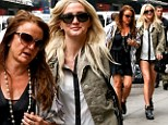 Which one's the daughter again? Ashlee Simpson and mother Tina step out in lookalike outfits during New York outing