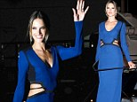 Alessandra Ambrosio at Roberto Cavalli yacht party