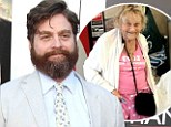Heart of gold! Zach Galifianakis saved an 87-year-old woman from homelessness and then asked her to be his date for the red carpet