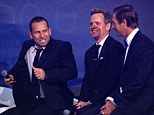 He said what? Sergio Garcia (left) said he would 'serve Tiger Woods fried chicken' and later apologised