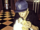 No longer his: Justin Bieber's pet monkey has been handed over to a zoo in Germany after the singer failed to collect him in time
