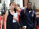 Odd couple: Kate Rothschild and Jay Electronica