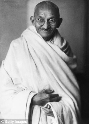 Gandhi - known as Mahatma Gandhi - was the leader of Indian nationalism and was famous for using non-violent civil disobedience