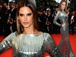 Alessandra Ambrosio at Cannes Film Festival premiere All Is Lost
