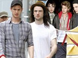 All you need is R-Patz! Andrew Garfield and Tom Sturridge enjoy a mini Brit Pack reunion in New York