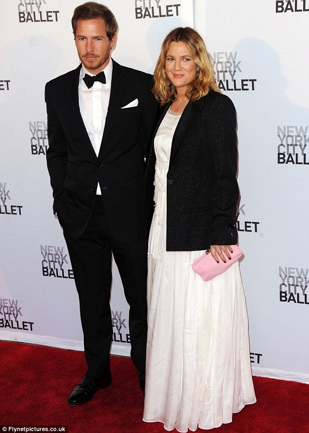No time for sentiment: Drew Barrymore wed Wil Kopelman at the property in June last year