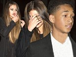 Selena Gomez and Jaden Smith grab a bite together at Hakkasan in London