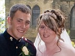 Lee Rigby with his wife Rebecca