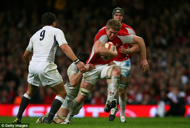 Skipper: Bradley Davies is to lead Wales on their tour of Japan