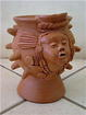 Pot thrown by Isidro Zevala Perez and decorated by Consuelo Blandon. Photo Courtesy of Potters for Peace
