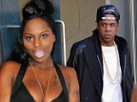 Foxy Brown and Jay-Z