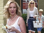 Katherine Heigl heads to a furniture store to film scenes for 'North Of Hell' in New Orleans