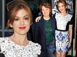 Who needs Ali G? Isla Fisher brings mother instead of Sacha Baron Cohen to Now You See Me premiere in Los Angeles