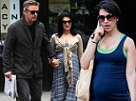 'My entire life has been about being in shape': Hilaria Baldwin reveals she has been working out four times a week during her pregnancy