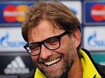 Press talk: Dortmund coach Jurgen Klopp speaks during a press conference ahead of the final