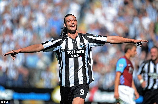 Cooled off: Newcastle had previously shown an interest in bringing Carroll back to the North East