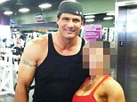 Snapped: Jose Canseco poses with Susie Bell, the woman who he says is wrongly accusing him of rape. The baseball star posted the undated photograph of the couple at a gym and asked her to stop lying in a string of tweets on his Twitter feed