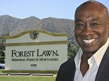 Police investigate 'hate crime' after Michael Clarke Duncan's grave is vandalised with racist graffiti