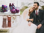 'I loved my eBay wedding!' Thrifty bride spends just £5,000 on dream nuptials... and hopes to make £500 re-selling bits online