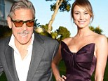 No split here! George Clooney and Stacy Keibler are going strong despite Mark Walhberg calling his actor pal 'single'