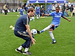 Old friends: Petr Cech and other Chelsea players have grown used to the idea of Jose Mourinho returning