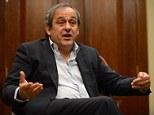 Centre of attention: UEFA president speaks to Sportsmail's Martin Samuel