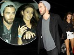 Beam me up hottie! Star Trek star Chris Pine seen leaving Hollywood club with sexy mystery woman