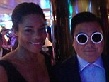 Pictured: The Psy imposter who tricked the Cannes Film Festival with his copycat Gangnam Style