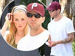 Things getting serious? Ryan Phillippe and his young model girlfriend shop for home furnishings in West Hollywood