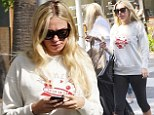 Heiress mommy: New mom Petra Ecclestone looks tired on her daily shopping run to Beverly Hills