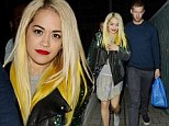 They're hungry for love! Rita Ora and Calvin Harris enjoy romantic dinner date before picking up haul of sweets on the way home