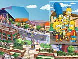 Fans of The Simpsons will be able to visit a new Universal Studios attraction based on the fictional town of Springfield. The park will boast new additions including Moe's Tavern, Lard Lad Donuts store and the Android's Dungeon & Baseball Card Shop.