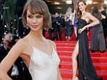 Victoria's Secret models past and present Izabel Goulart and Karlie Kloss turn on the glamour at Cannes premiere of The Immigrant