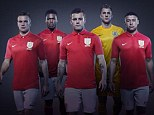 Pride of Lions: England's new second strip brings back memories of Bobby Moore's World Cup triumph
