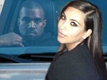Kim Kardashian and baby daddy Kanye West FINALLY spotted in same city (but not together)