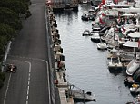 What a view: Monte Carlo plays host to the blue-riband Monaco Grand Prix