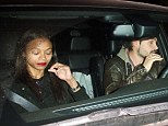 FIRST PHOTOS! Zoe Saldana plays a game of hide-and-seek on clandestine date with boyfriend Marco Perego