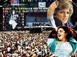 Princess Diana 'loved popstars', writes Dylan Jones in his book about Live Aid
